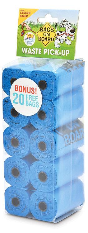 BOB BLUE REFILL ROLLS (10x14 Bags)