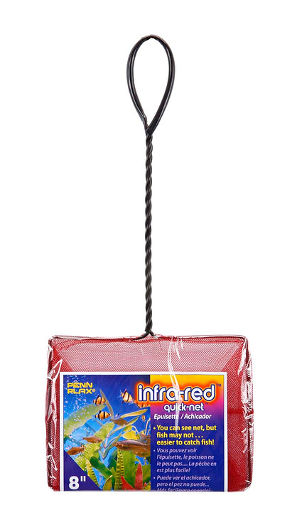 """8 INCH-8"""" X6"""" RED QUICK-NETS"""