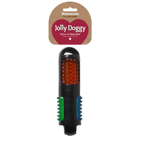 Jolly Doggy Catch & Flash Stick
