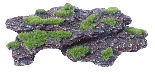30CM ROCK WITH MOSS