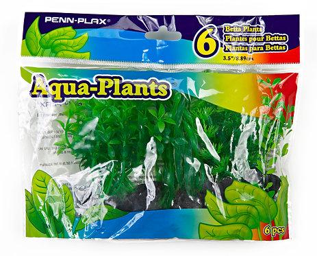 BETTA SIZE PLASTIC PLANT GREEN
