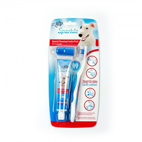 SPARKLES - COMBO PACK w/VANILLA AND GINGER T/PASTE