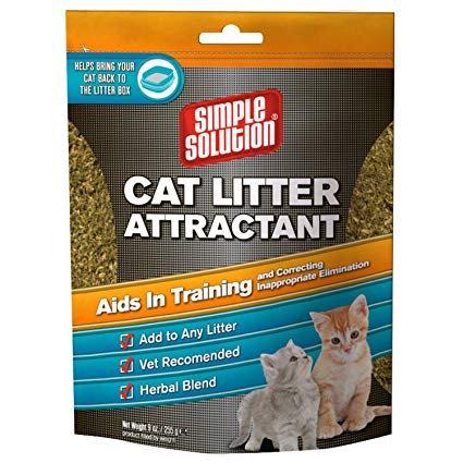 CAT LITTER ATTRACTANT 255GM