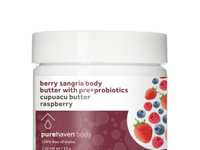 Berry Sangria Body Butter with Pre+Probiotics