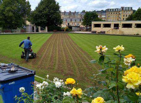 Green renovations start 29th July 2020