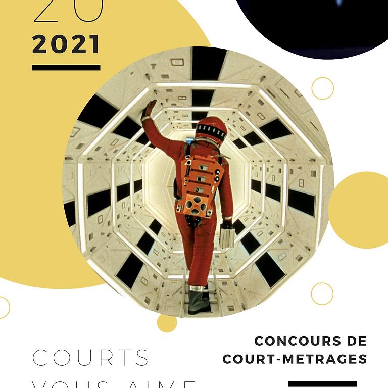Sortie du DVD des Courts-Vous-Aime (2 à 3 courts métrages par les gagnants du concours)
