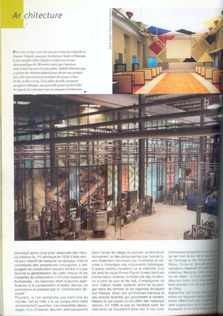 Magazine Architectures CRÉE