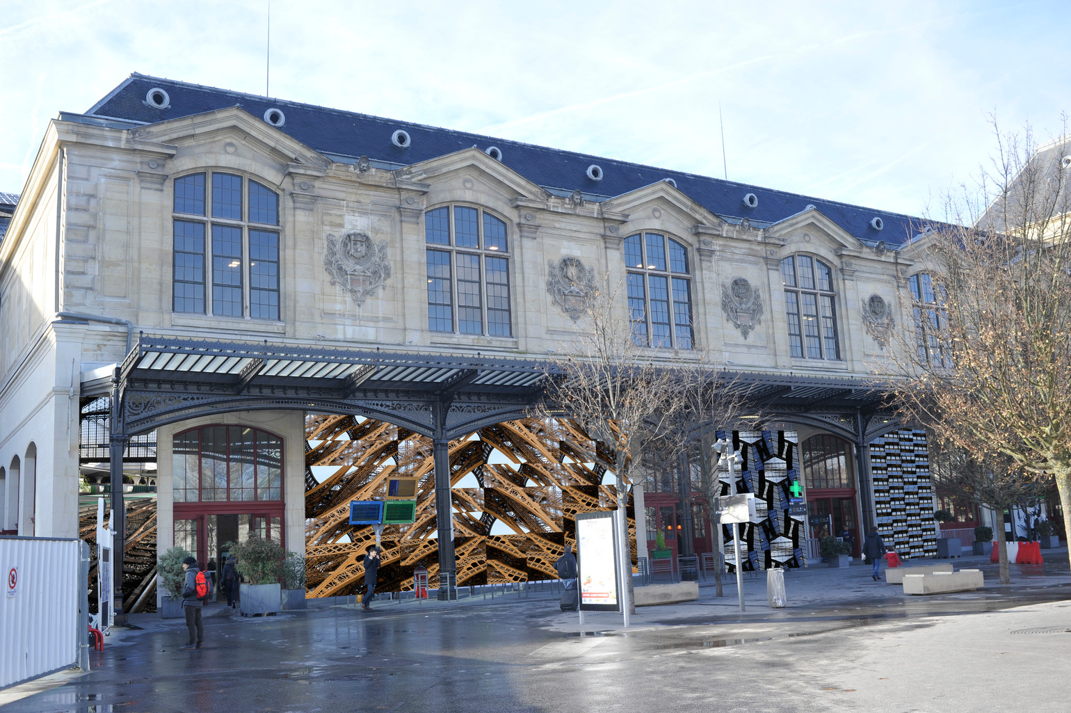 Paris en gare