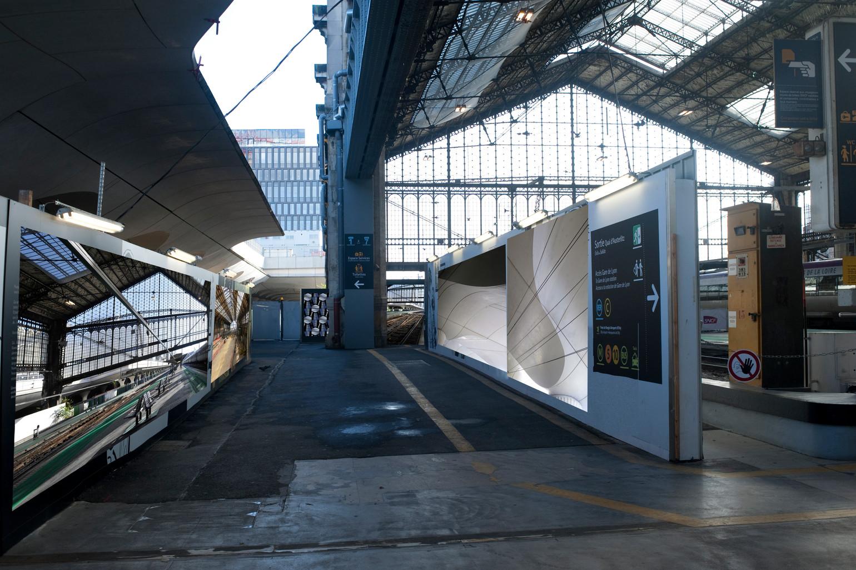 Paris en gare
