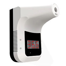 Wall-Mounted Body Thermometer