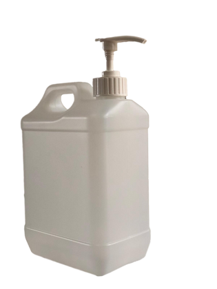 2.5 Litre HDPE Plastic bottle  with Pump