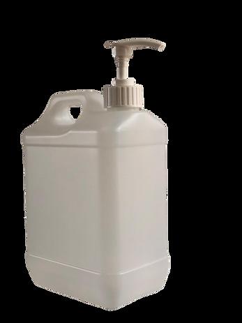 2.5 Litre HDPE Plastic bottle  with Pump