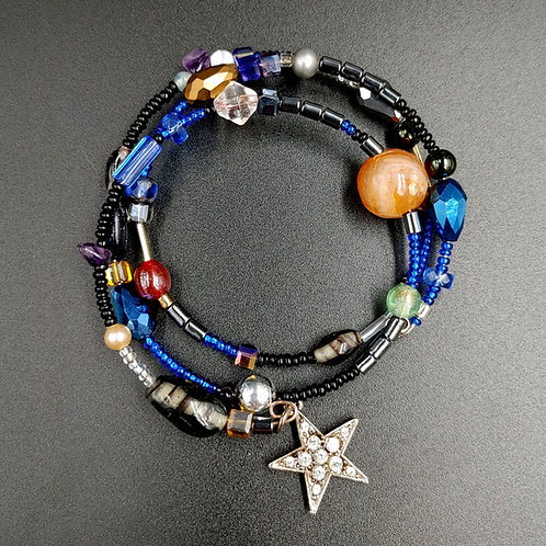 Celestial Dream wire bead bracelet