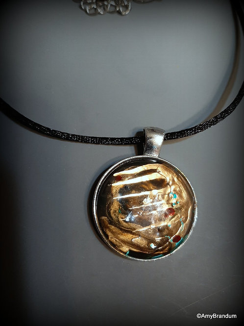 In the Golden Cave Necklace