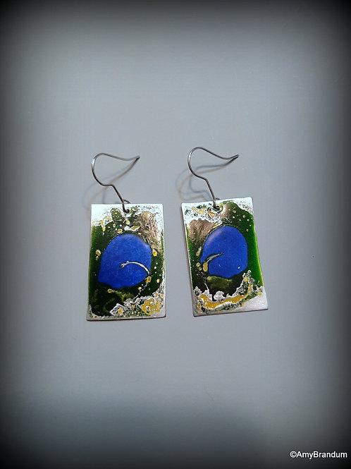 Earthy Squares Earrings