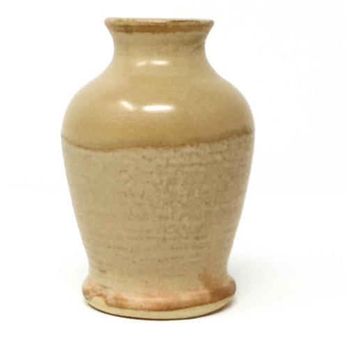 Small Soft Brown Vase