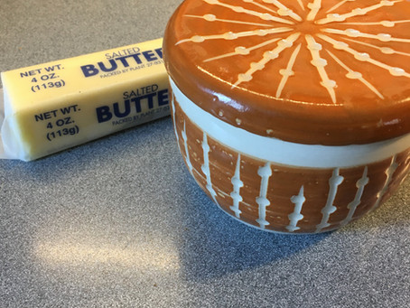 How to Use My French Butter Dish