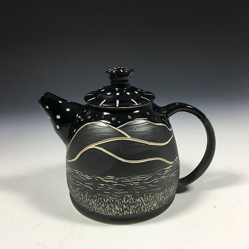 Landscape Tea Pot