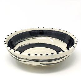 Black & White Swirl Bowl