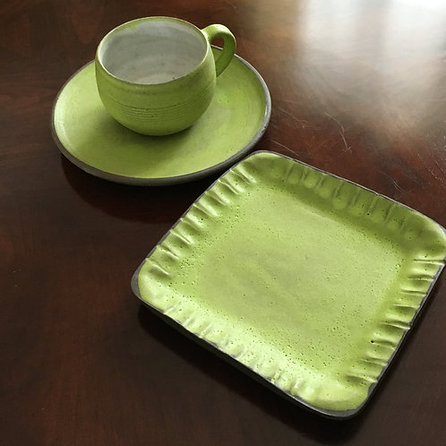 3 pc. Green Breakfast Set - The Crayons
