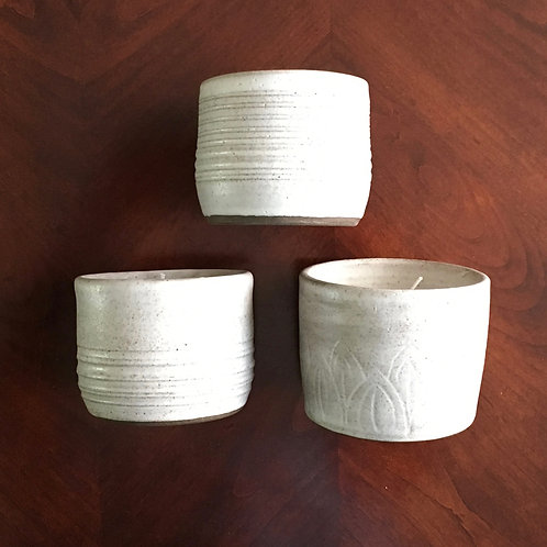 White Soy Wax Candles