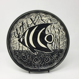 Angel Fish Plate