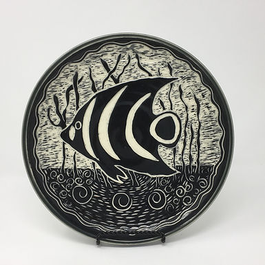 Angel Fish Plate