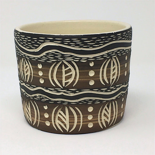 """Earthed Plant Pot - """"Terra"""""""