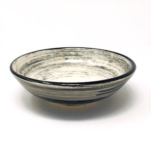 Black & White Axis Bowl