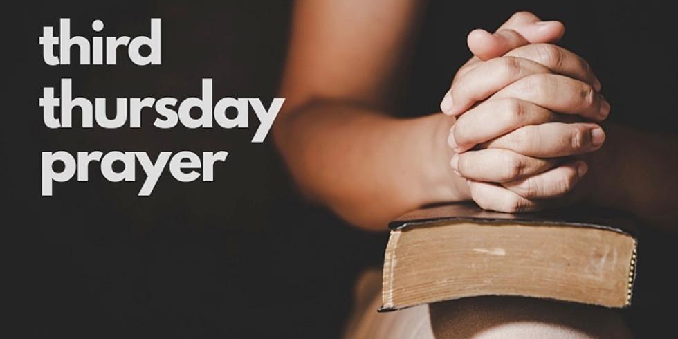 Third Thursday Prayer