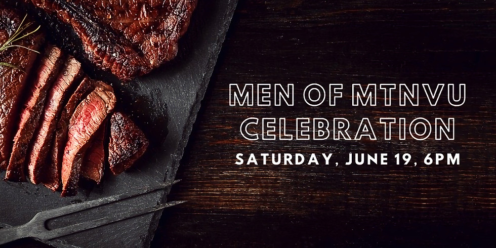 Men of MountainView Celebration