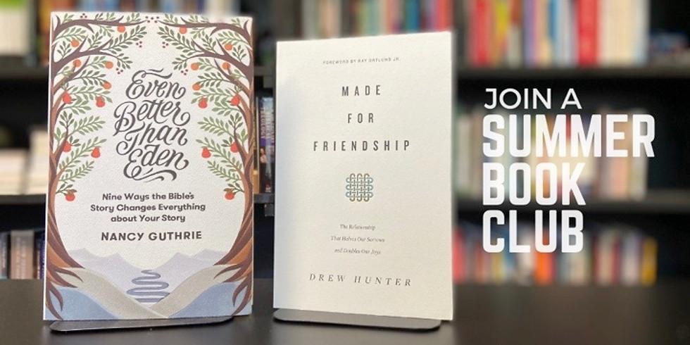 Summer Book Club: Week Four