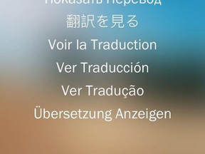 Translations within Instagram Stories