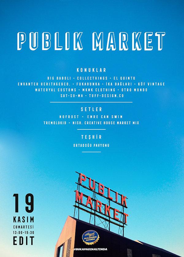 Publik Market 2016 Poster