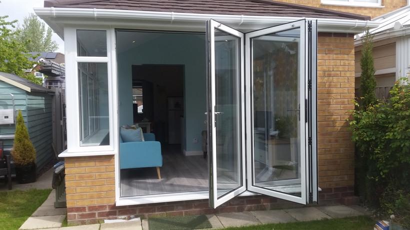 bi folding patio doors