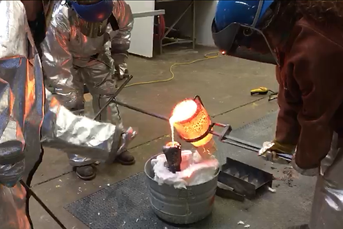 Bronze casting 101