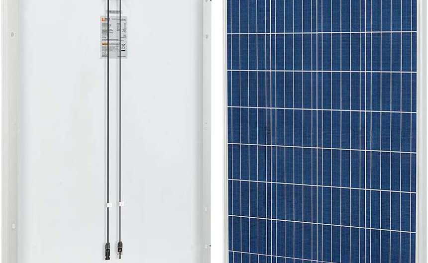 RICH SOLAR 100 Watt 12 Volt Polycrystalline Solar Panel High Efficiency Solar Module