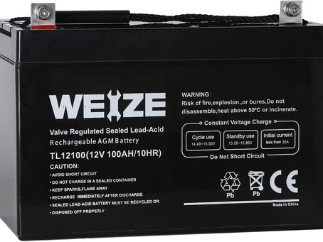 Top 5 Deep Cycle Batteries for your Solar Set Up