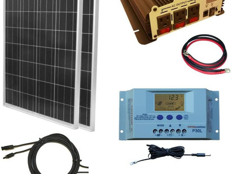 Top 5 All in One Solar Panel Kits