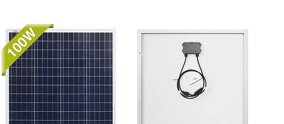 Top 5 100 Watt Solar Panels under $100