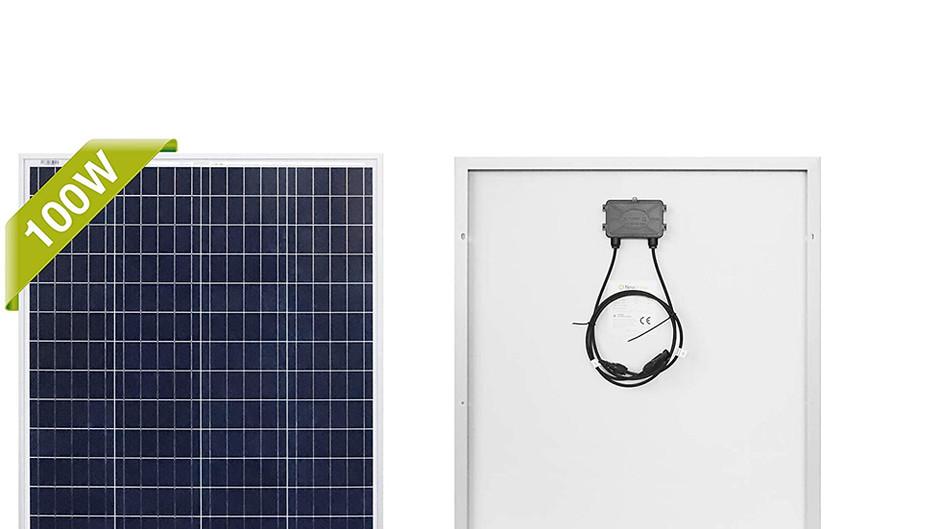Top 5 100 Watt Solar Panels under $100
