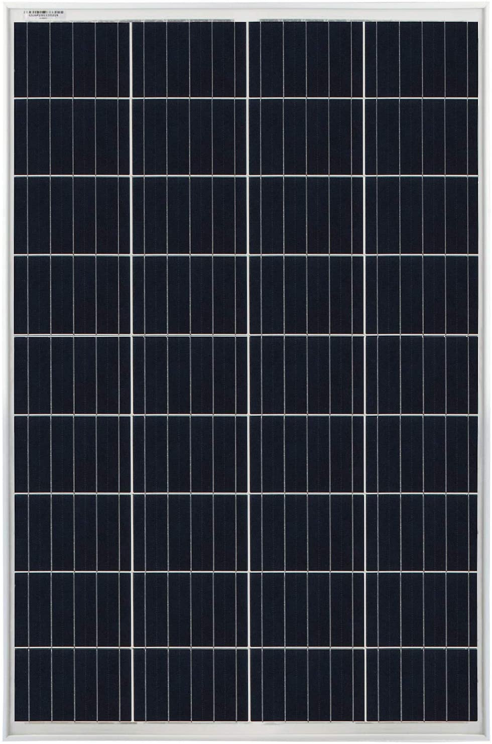 Mighty Max Battery 100 Watts 100W Solar Panel 12V - 18V Poly Off Grid Battery Charger for RV Brand Product