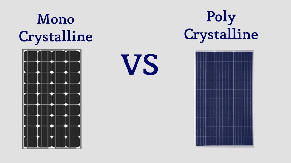 What's the difference between Monocrystalline and Polycrystalline Solar Panels?
