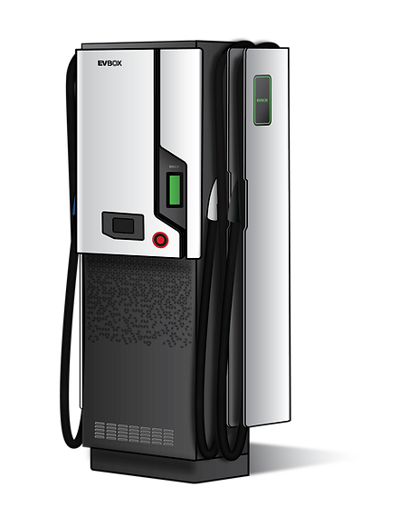 Ultra-fast 50kW DC charger from EVBox