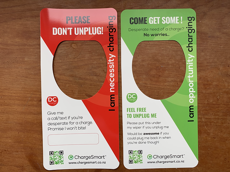 Take Charge DC Hangtag Pack