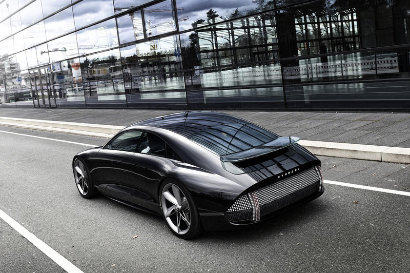 Hyundai Prophecy electric vehicle concept car