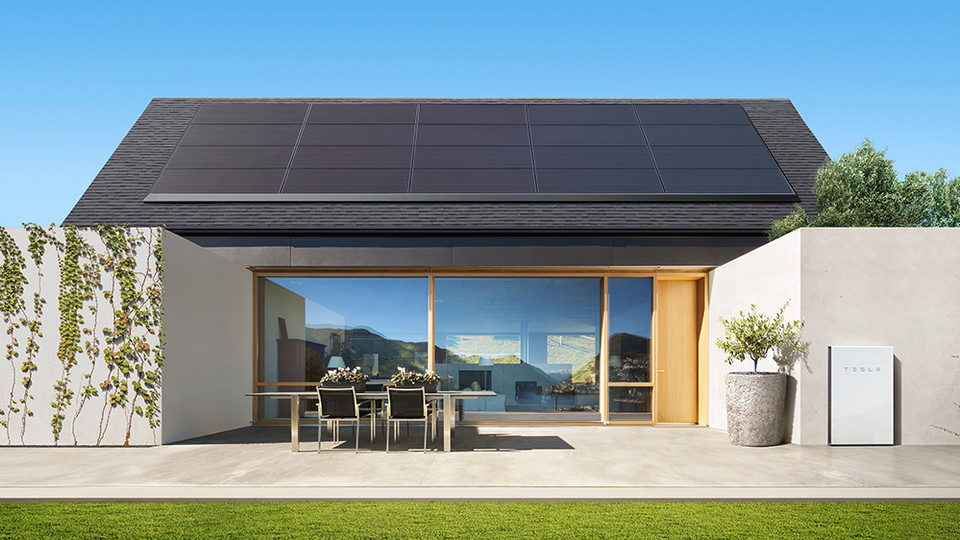 Tesla Powerwall 2 Paired with Solar
