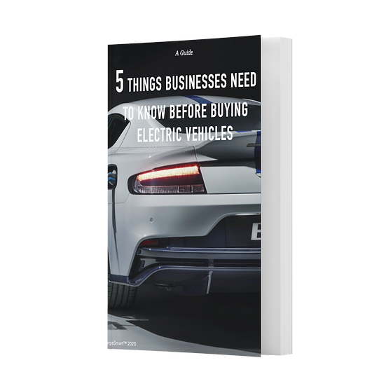 The 5 things businesses need to know before buying EVs