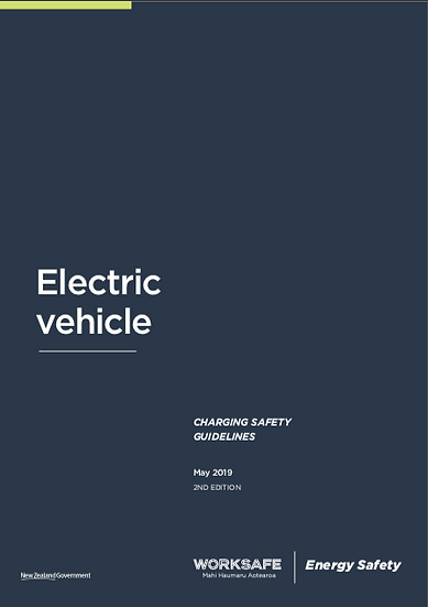 Worksafe Electric Vehicle Charging Safety Guidelines