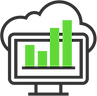 This is an icon for electric vehicle charging software for New Zealand and Australia